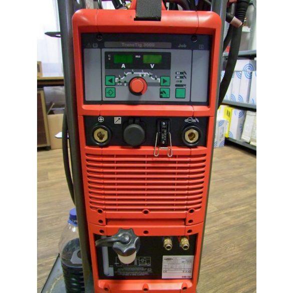 Használt FRONIUS TransTig 3000 JOB egyenáramú, vízhűtéses hegesztőgép