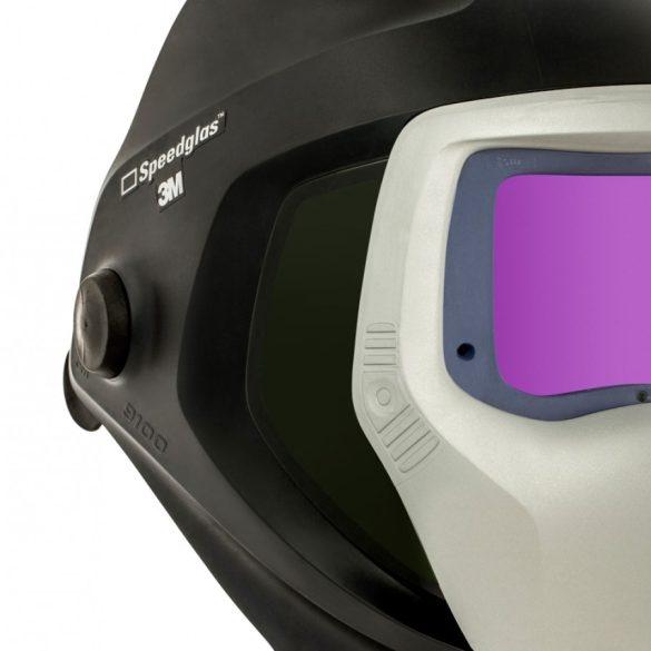 """Speedglas 9100 hegesztőpajzs oldal ablakokkal és 9100 """"XXi"""" automata elektronikával 5/8/9-13"""