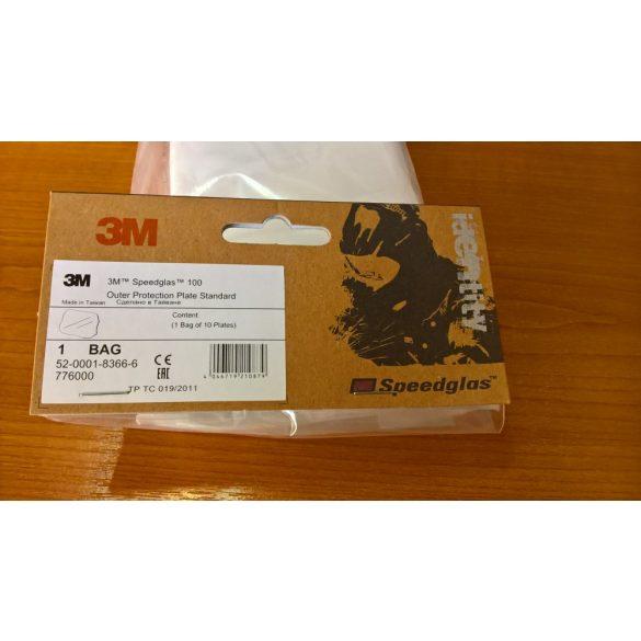 Speedglas 100 külső védőplexi - standard - 776000