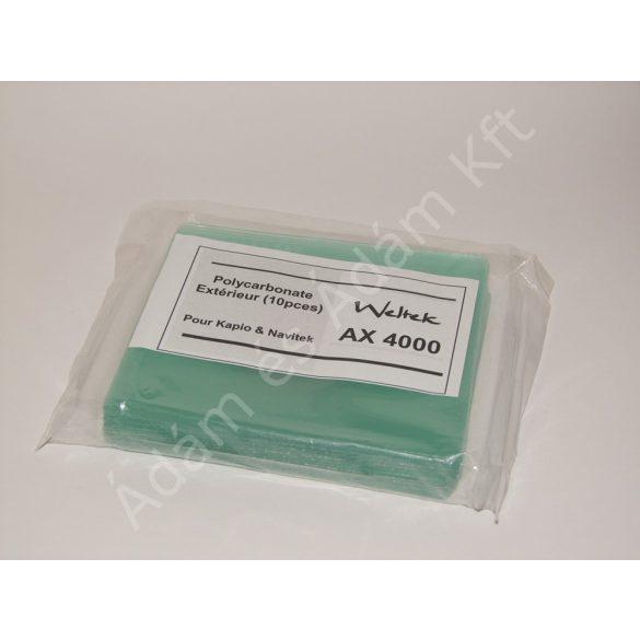 Weltek külső védő plexi - AX4000