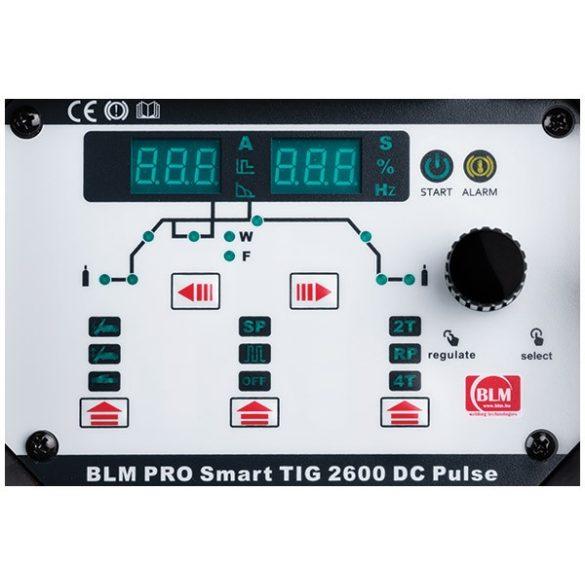 BLM PRO SMART TIG 2600 DC PULSE egyenáramú, nagyfrekvenciás AWI hegesztőgép