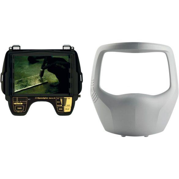 """Speedglas 9100 """"XXi"""" hegesztőkazetta (elektronika) DIN 5, 8, 9-13 ezüst előlappal - 500126"""
