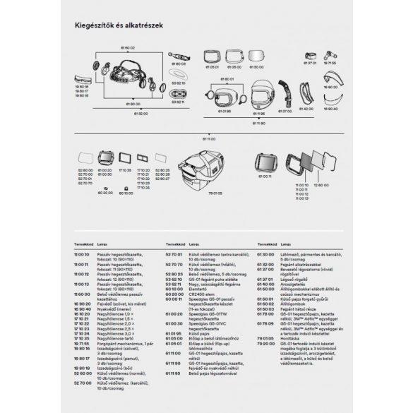 Speedglas 9100, G5-01 külső védőplexi - karcálló - 527001 (korábban 527000)
