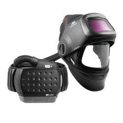 Speedglas G5-01 hegesztőpajzs G5-01VC hegesztőkazettával és ADFLO szűrtlevegős légzésvédővel - 617830
