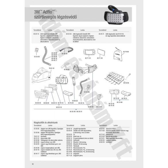 Speedglas Adflo előszűrő, 5db/csom - 836010