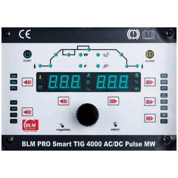 BLM PRO SMART TIG AC/DC PULSE MW 4000 váltóáramú hegesztőgép