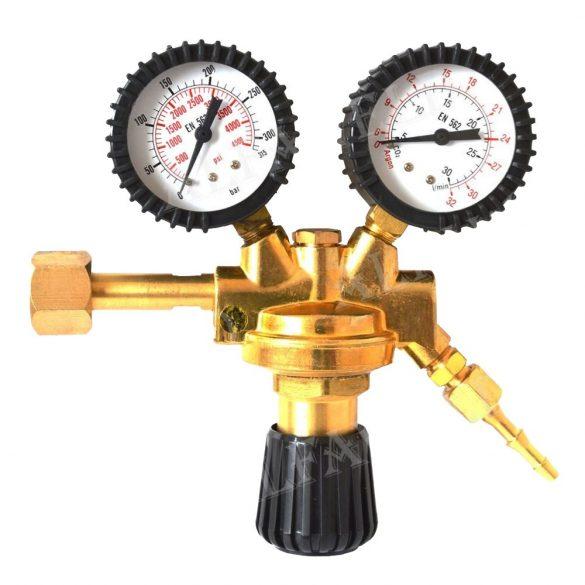 Alfared Maxi CO2-Argon nyomáscsökkentő, reduktor, 230 Bar/ 24 liter/perc