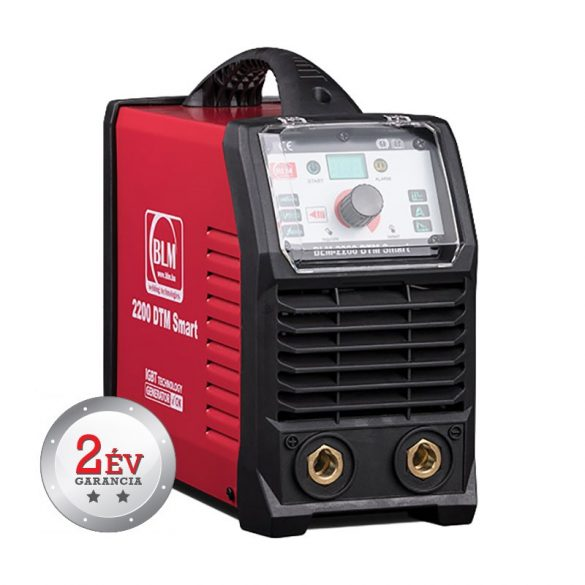 BLM 2200 DTM SMART inverteres, egyenáramú hegesztőgép