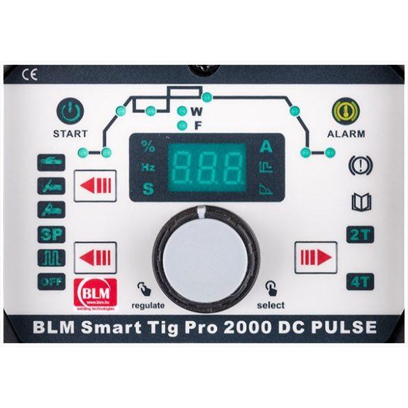 BLM PRO SMART TIG 2000 DC PULSE egyenáramú AWI hegesztőgép