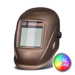 BLM V4 Real Colors GN metál barna automata hegesztőpajzs