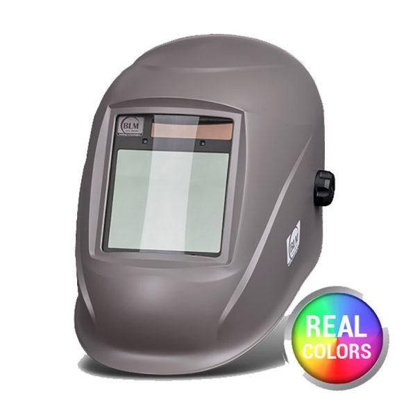 BLM V4 Real Colors GN matt szürke automata hegesztőpajzs