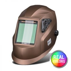 BLM V4 Real Colors GNX metál barna automata hegesztőpajzs