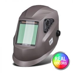 BLM V4 Real Colors GNX matt szürke automata hegesztőpajzs