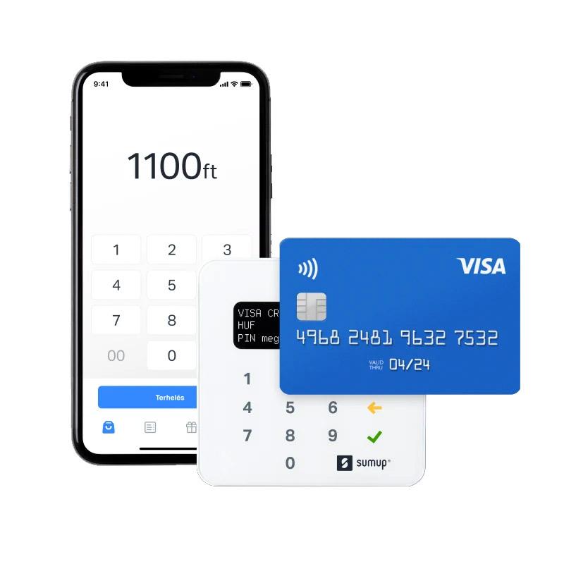 -5.000 Ft SumUp kártyaolvasó ajánló
